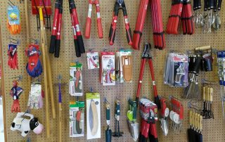 Hung Gardening Tools