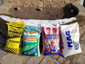 Bagged Rock Salt